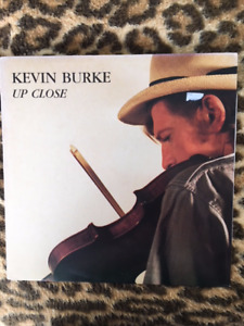 Vinyl LP Record Albums Irish fiddler Kevin Burke
