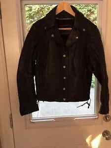 Ladies Size L Custom Motorcycle Jacket Cost $680 Sell $190