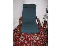 Two comfortable good quality armchairs