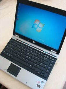 HP elitebook Laptop Intel 2.53GHz 4GB RAM 500GB HD Win7 Office