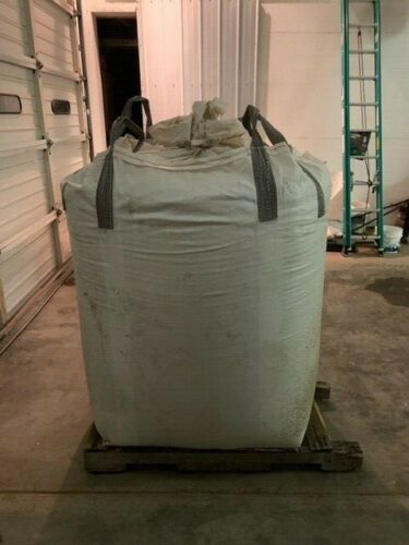 Used tote sized grain bag for storage holds 2200 lbs used once large grain sack
