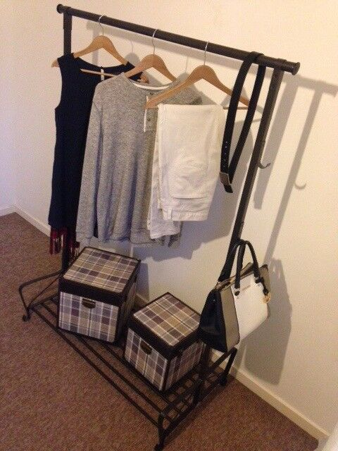 IKEA Portis OPEN WARDROBE/CLOTHES RACK immaculate condition.