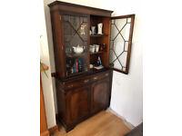 Display Cabinet Mahogany Antique