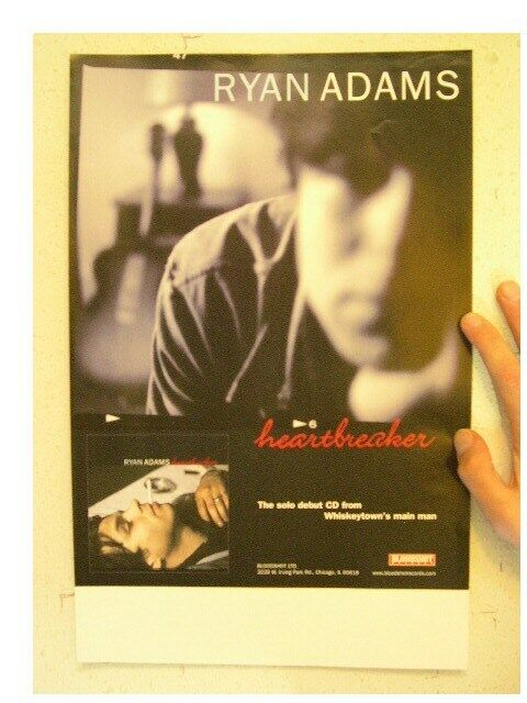 Ryan Adams Poster Heartbreaker Whiskeytown