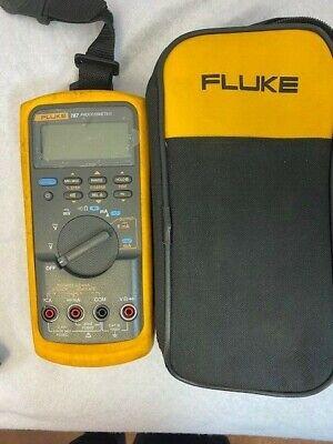Fluke 787 Processmeter Multimeter W Leads Case