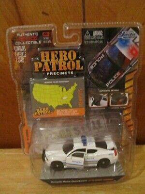 JADA HERO PATROL MEMPHIS POLICE DODGE CHARGER PPV 1/64 SCALE