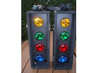 SOUNDLAB AUTO CONTROLLER 4s ( 8 BULB DISCO LIGHTS ) RETRO,NICE BRIGHT EFFECT ,