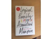 Logical Family by Armistead Maupin (brand new)