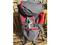 85L Mountain Warehouse Tor Rucksack Backpack Unisex. NEW WITH TAGS ON.