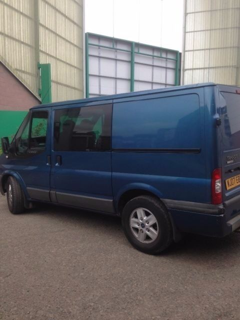 Transit crew van... swap px for tipper