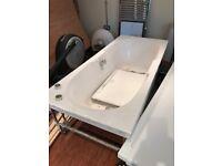 White bath 1800 x 800