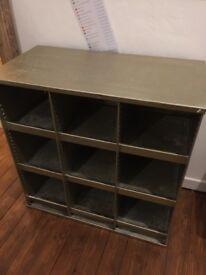 Vintage ex-Post Office Storage Shelves Cabinets