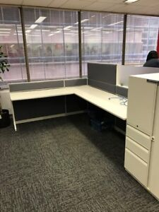 Cubicles, Teknion TOS 6x7.5 workstations excellent condition 499