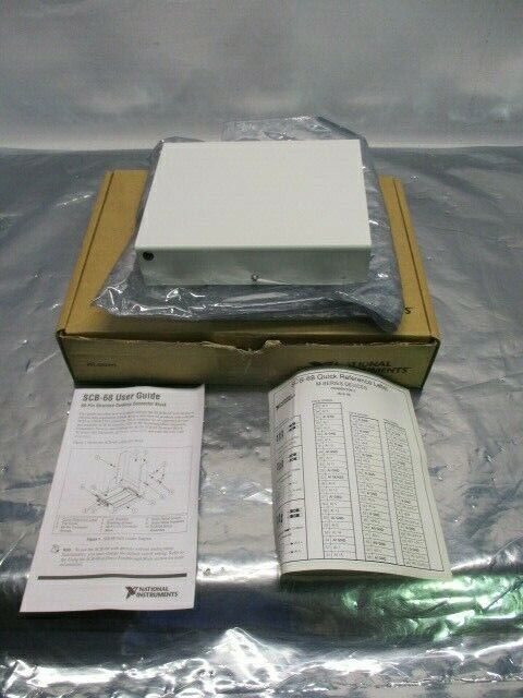 National Instruments SCB-68 Shielded I/O Connector Block / Screw Terminal 100063
