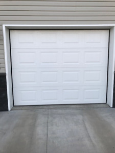 USED GARAGE DOOR   9x7