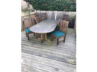 Teak Garden Furniture Table & Chairs