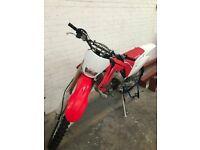 Honda CRF 250X Enduro bike for sale
