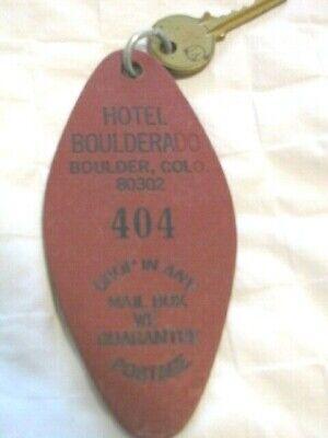 Vintage Hotel Boulderado, Hotel/Motel Fob & Key, Boulder CO