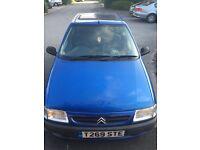 1999 1.1 Citroen saxo for sale £550ono