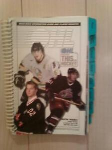 2002-2003 Ontario Hockey League Guide and Player Register
