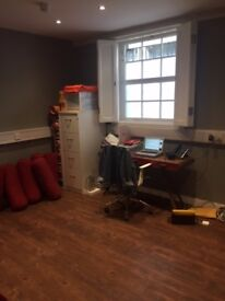 Unfurnished 180 square foot studio in East London