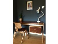 1950s Robin Day Hille Desk and Matching Hillestak Chair - Mid century 60's - LONDON DELIVERY
