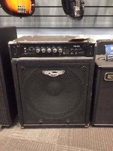 Traynor TB100 bass combo amplifier