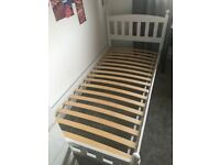 Single wooden bed frame x 2