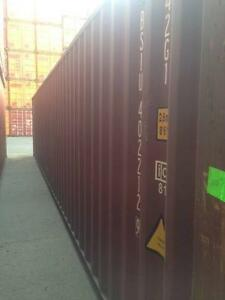 40' A Grade Shipping Containers delivered to Laverton $2540 +GST Laverton Wyndham Area Preview