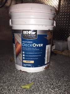 Deck Over Paint by Behr - 5 gallons