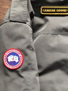 GREY Chateau Parka Non-Fur Canada Goose Winter Jacket Large