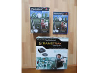 PlayStation 2 Real World Golf Game Full Package by Gametrak.