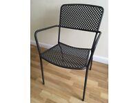M&S Metal Garden Chairs
