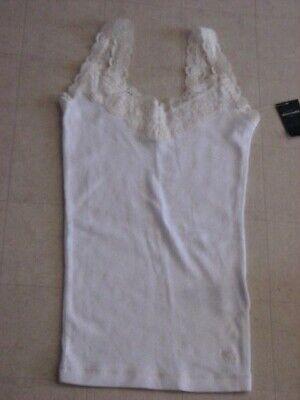 Abercrombie Kids Stretch Lace Cami Shirt Girls Asstd. Colors S/M/L -  NWT $25