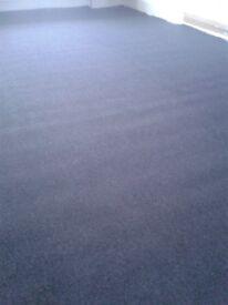 Dark grey carpet only 2 month old