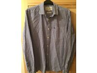 Shirt - Jack Wills - blue and white check, Size S - classic fit.