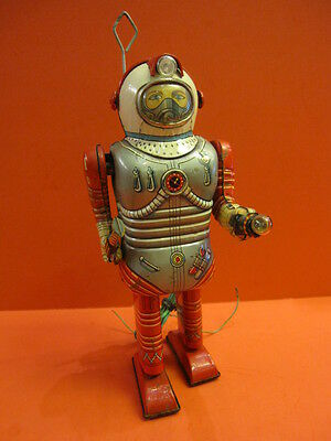 ALL ORIGINAL NOMURA SPACE MAN ASTRONAUT ROBOT SPACE TIN TOY