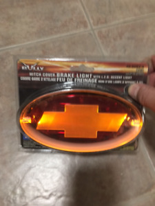 NEW CHEV Trailer Hitch Receiver LED Cover