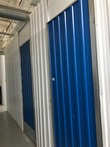Metal Sheets with doors n TRacks for SELF STORAGE for SALE