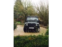 Defender Soft Top - Professionally Converted