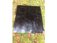 Very good condition Bosch PIA611B68B_BK induction hob in black