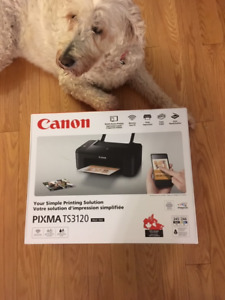 Brand new printer unopened Canon PIXMA TS3120