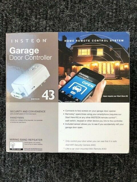 Insteon 74551 Garage Door Control & Status Kit - New In Box - Home Automation