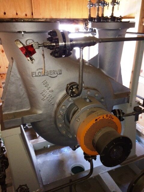 New Flowserve 10HDX27B, API 610 Pump with 900 HP Reliance Arctic Duty Motor