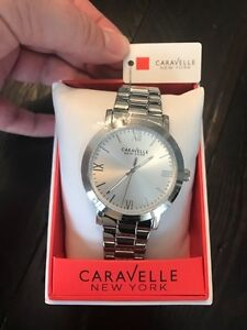 Caravelle New York Men's Watch - Stainless Steel (Style 43A131)