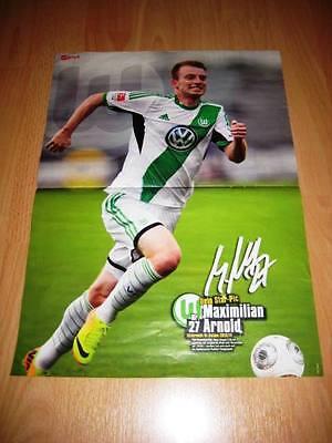 Sticker 270 TOPPS Bundesliga 2017//2018 Maximilian Arnold