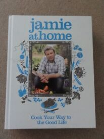 Jamie At Home cookery book by Jamie Oliver (hard back)