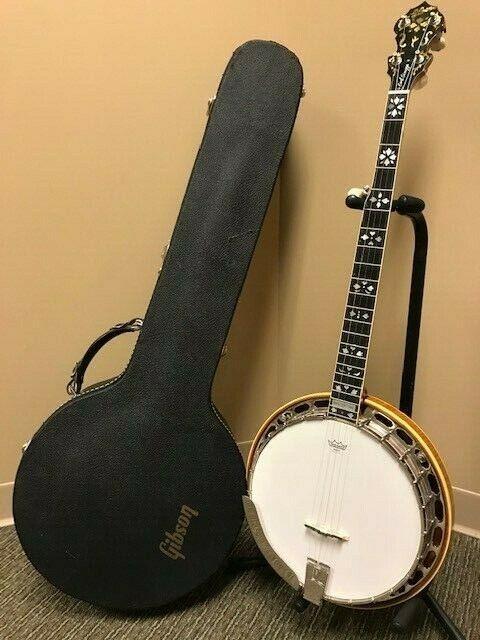 "5 String Banjo 1984 Gibson Mastertone original ""Earl Scruggs Signature"" 1 owner"