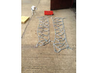 Pair of Pewag Snow chains for Land Rover etc