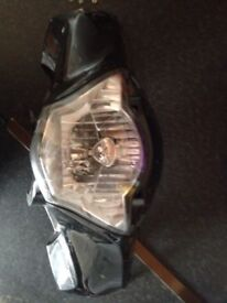 Honda sh125i front headlight